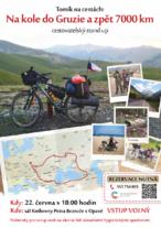 Tomáš Vejmola Tomík na cestách – Na kole do Gruzie a zpět