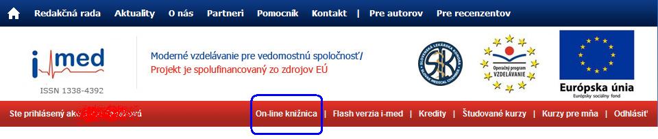 iMED - menu